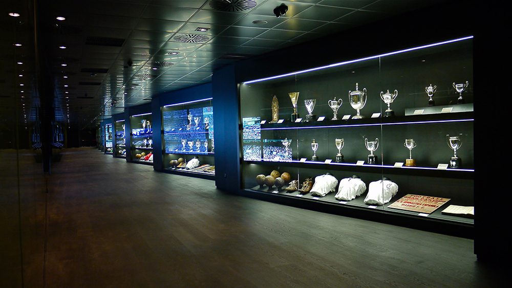 Museo Real Madrid.Tour Bernabeu Museo Real Madrid Experiencia